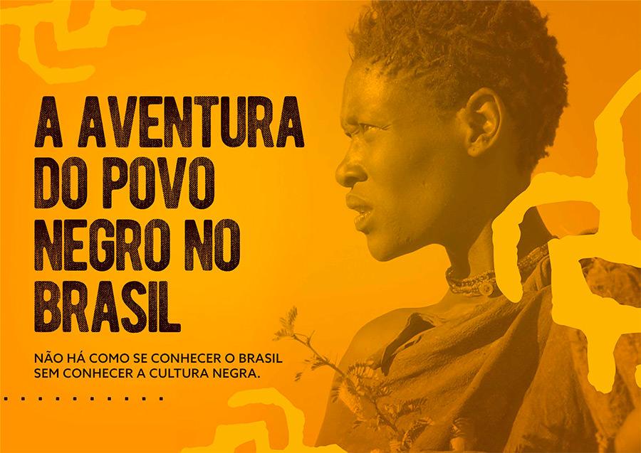 Capa A Aventura do Povo Negro no Brasil